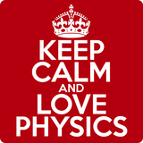 """Keep Calm and Love Physics"" (white) - Men's T-Shirt  - LabRatGifts - 12"