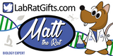 """Matt the Rat"" - Plush Toy  - LabRatGifts - 2"