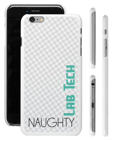 """Naughty Lab Tech"" - iPhone 6/6s Plus Case  - LabRatGifts - 1"