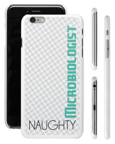 """Naughty Microbiologist"" - iPhone 6/6s Plus Case  - LabRatGifts - 1"