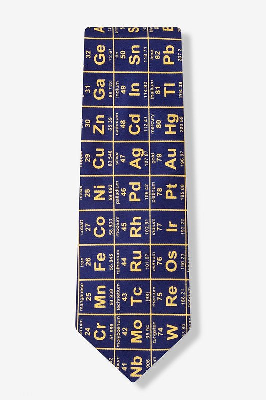 Elements Tie Navy - LabRatGifts - 1