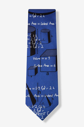 Geometry Tie Navy - LabRatGifts - 1