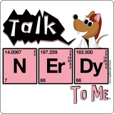 """Talk Nerdy to Me"" - Women's T-Shirt  - LabRatGifts - 12"