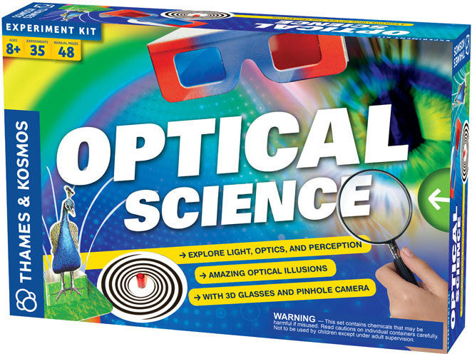 """Optical Science"" - Science Kit  - LabRatGifts - 1"