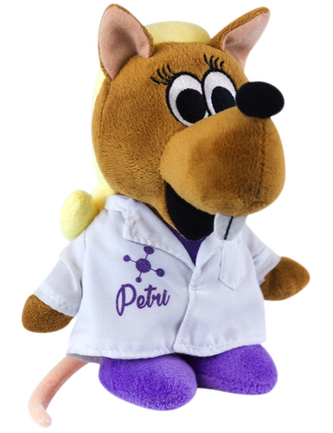 """Petri"" - Plush Toy  - LabRatGifts - 1"