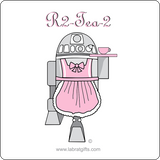 """R2-Tea-2"" - Women's T-Shirt  - LabRatGifts - 10"