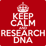 """Keep Calm and Research DNA"" (white) - Men's T-Shirt  - LabRatGifts - 12"