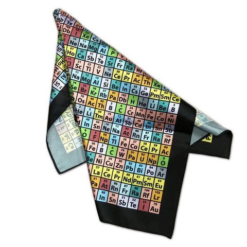 Periodic Table of Elements Scarf  - LabRatGifts - 1