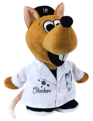 """Slacker"" - Plush Toy  - LabRatGifts - 1"