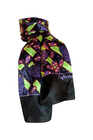 Infectious Awareables™ Smallpox Scarf  - LabRatGifts - 1