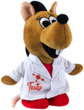 """Testy"" - Plush Toy  - LabRatGifts - 1"