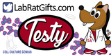 """Testy"" - Plush Toy  - LabRatGifts - 2"