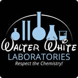 """Walter White Laboratories"" - Men's T-Shirt  - LabRatGifts - 10"