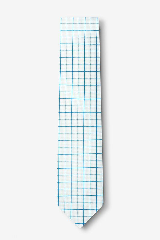Graph Paper Tie Skinny - LabRatGifts - 2