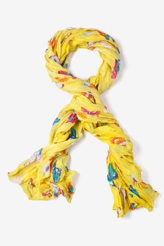 Flight Of The Butterflies Scarf  - LabRatGifts - 1