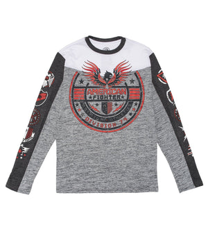 Stillman - Youth - Kids Long Sleeve Tees - American Fighter