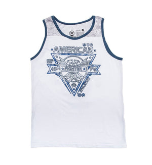 Bay State Artisan - Youth - Kids Tank Tops - American Fighter