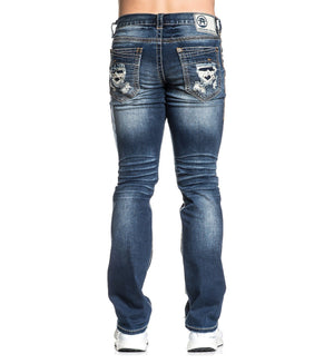 Legend Davenport Thunder - Mens Denim Bottoms - American Fighter