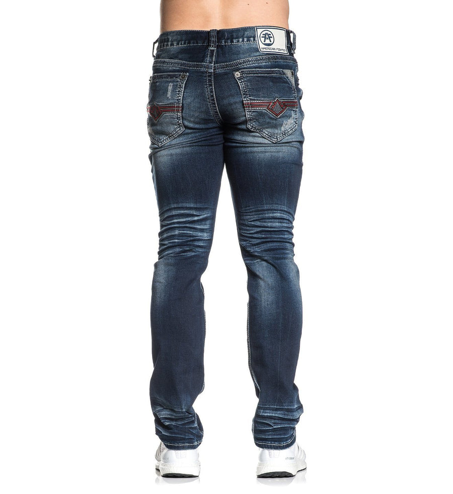 Legend Freedom Kane - Mens Denim Bottoms - American Fighter