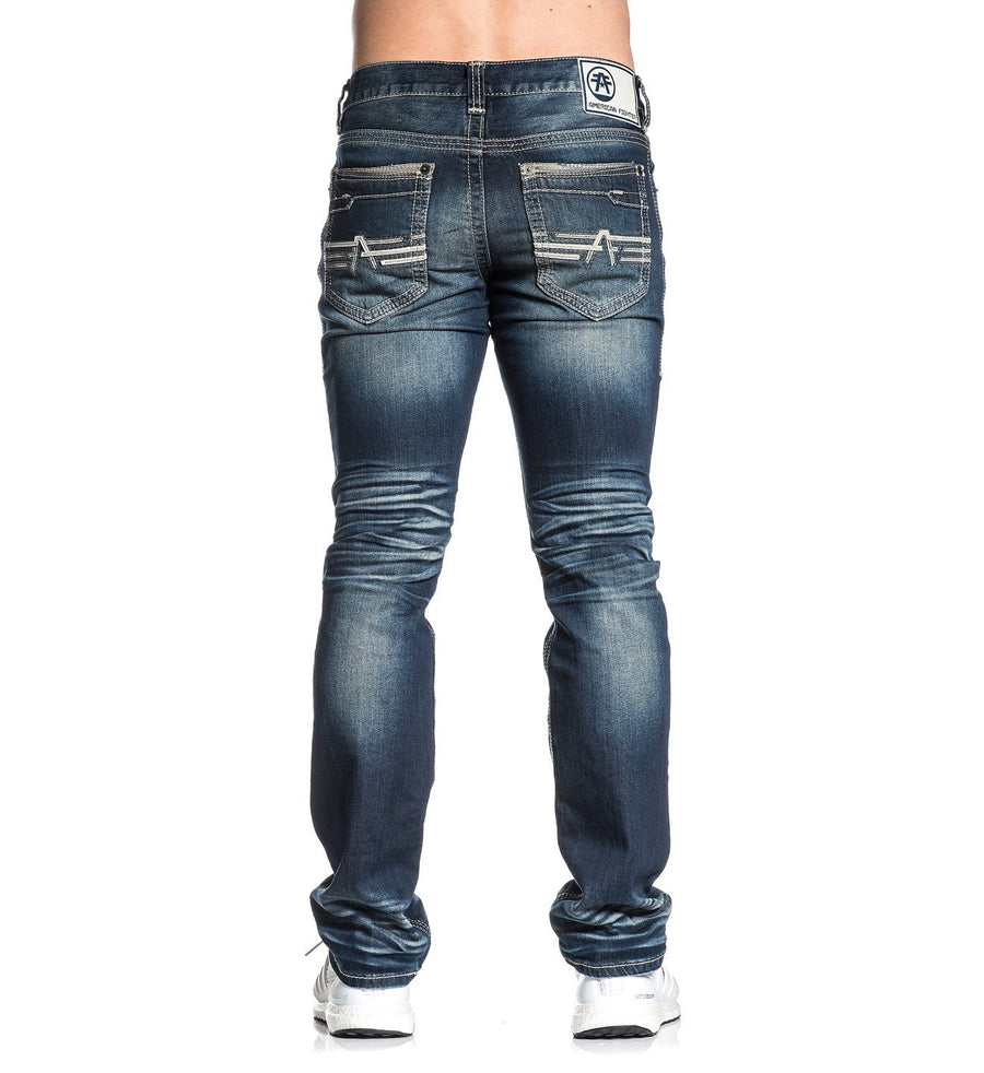 Legend Rudy Nashville - Mens Denim Bottoms - American Fighter