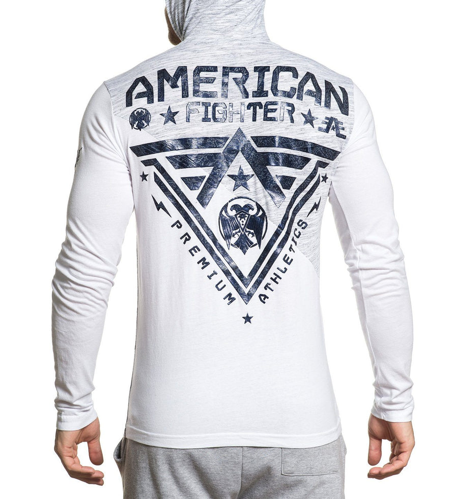 Blue Mountain - Mens Hooded Sweatshirts - American Fighter