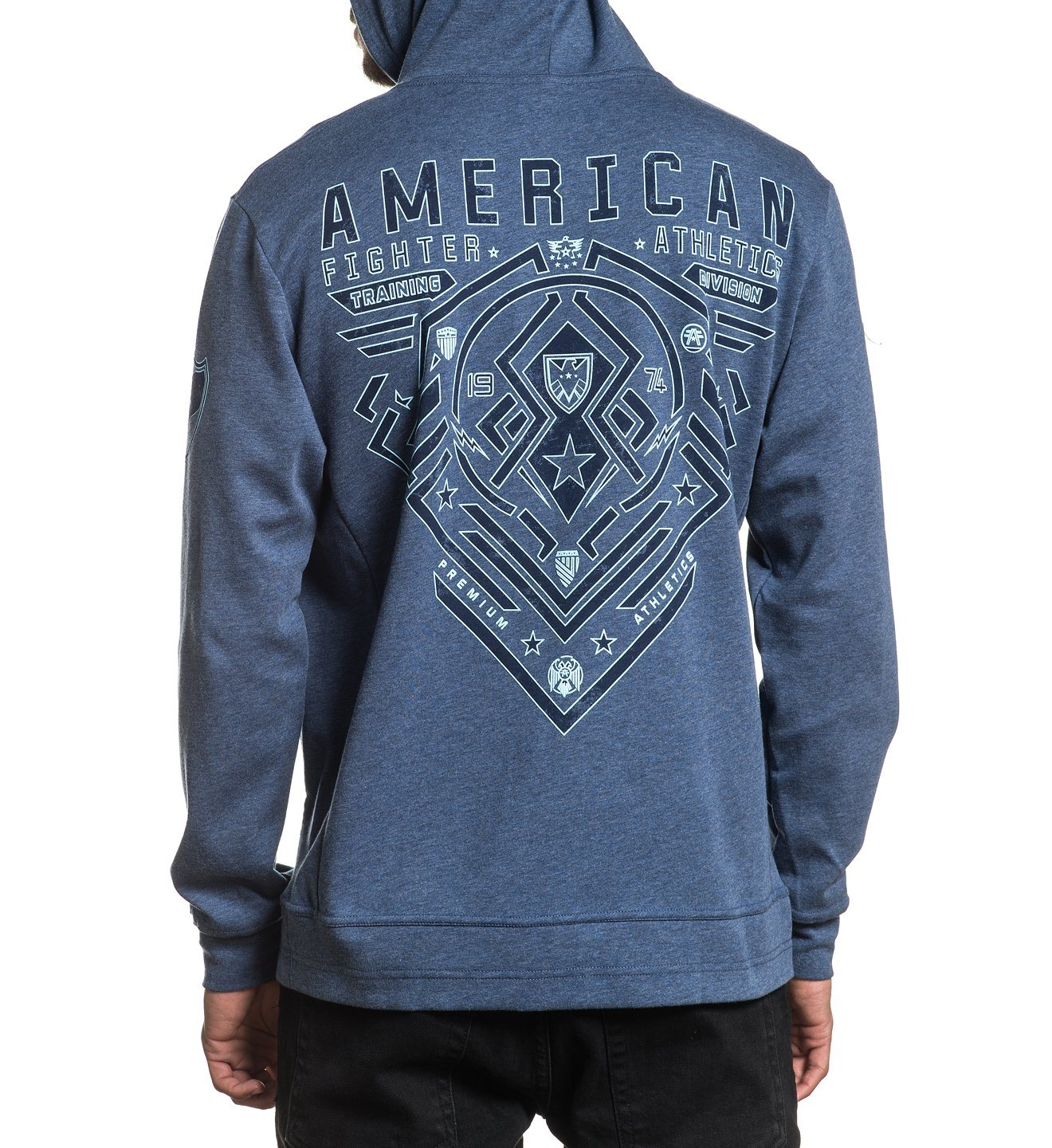 Brimley - Mens Hooded Sweatshirts - American Fighter