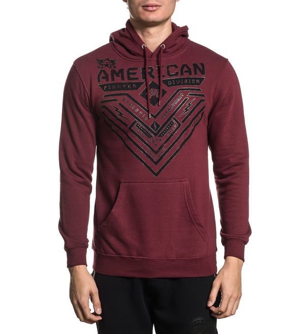 Crystal River P/O Hood - Mens Hooded Sweatshirts - American Fighter