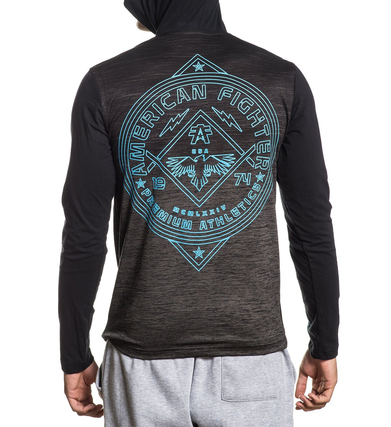 Galveston - Mens Hooded Sweatshirts - American Fighter