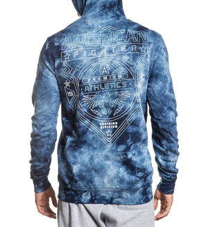Galveston P/O Hood - Mens Hooded Sweatshirts - American Fighter