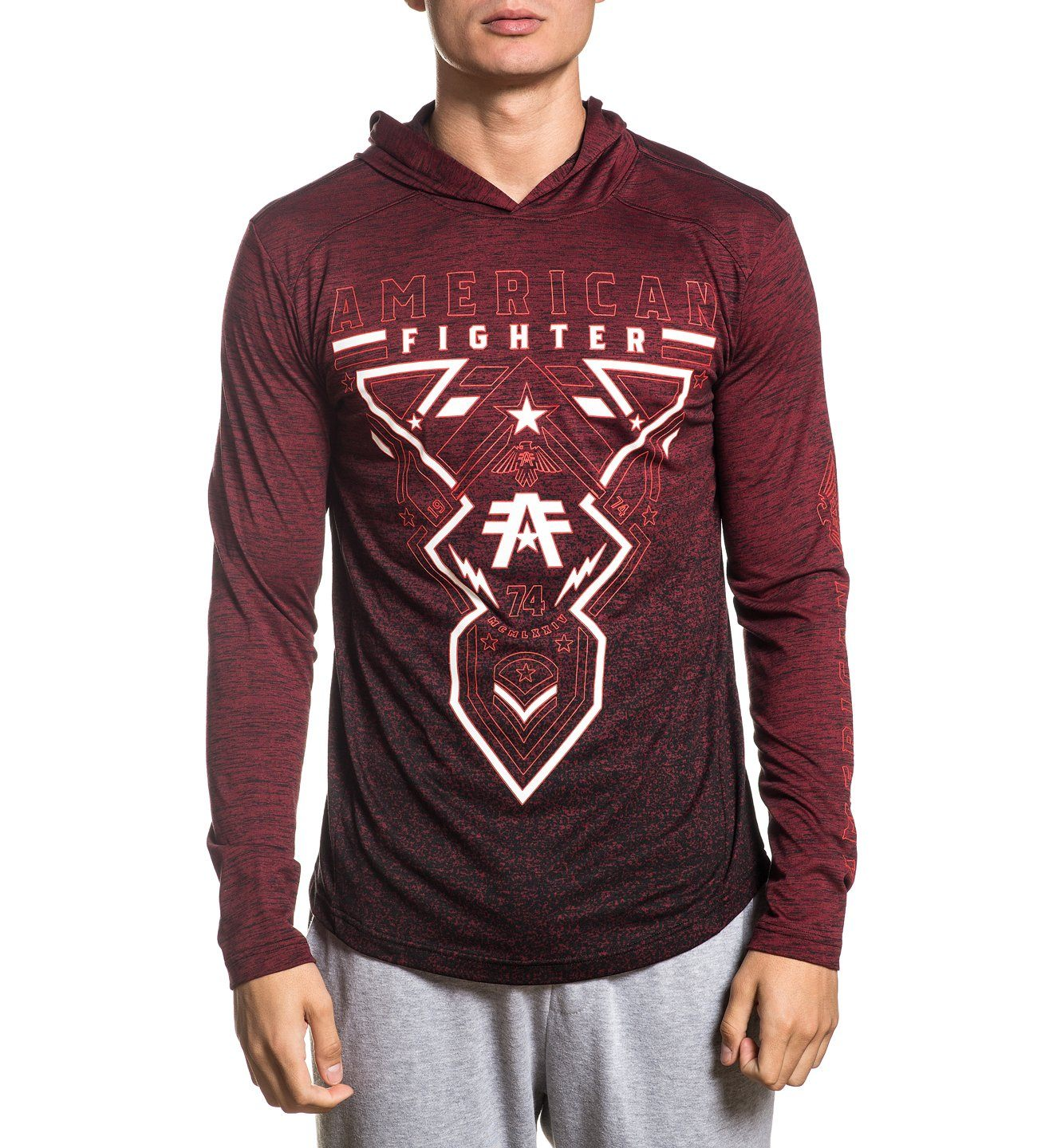 Hartsdale - Mens Hooded Sweatshirts - American Fighter