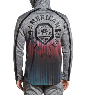Hathaway - Mens Hooded Sweatshirts - American Fighter
