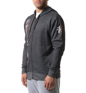 Kaylor Tmt Zip Hood - Mens Hooded Sweatshirts - American Fighter