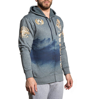 Lander - Mens Hooded Sweatshirts - American Fighter