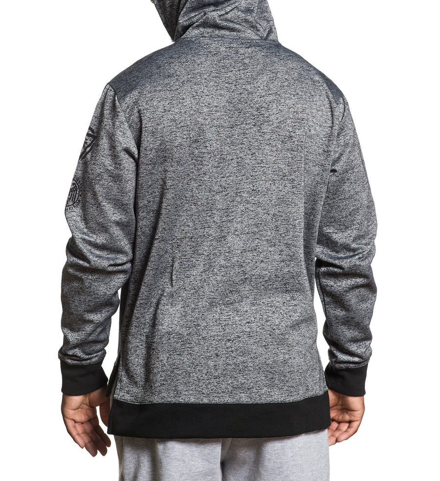 Light Out Pullover - Mens Hooded Sweatshirts - American Fighter