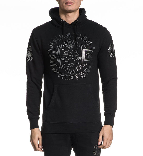 Macmurray P/O Hood - Mens Hooded Sweatshirts - American Fighter