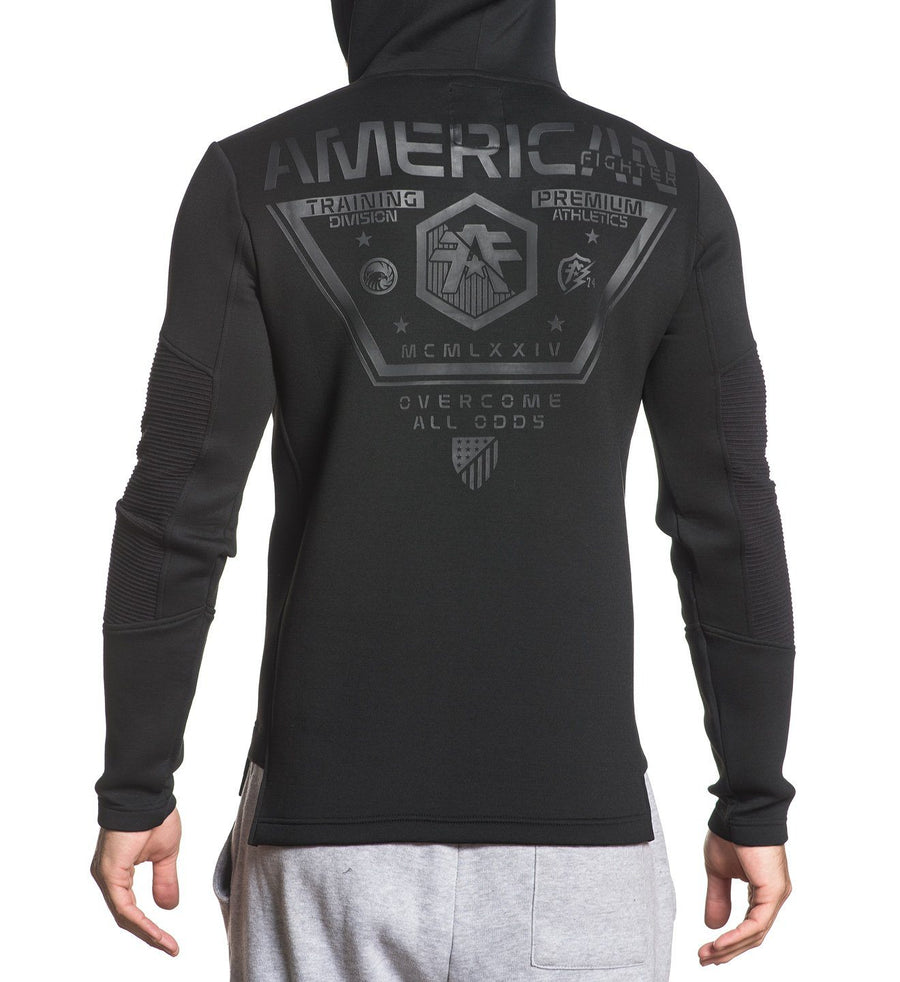 Out Run Pullover - Mens Hooded Sweatshirts - American Fighter