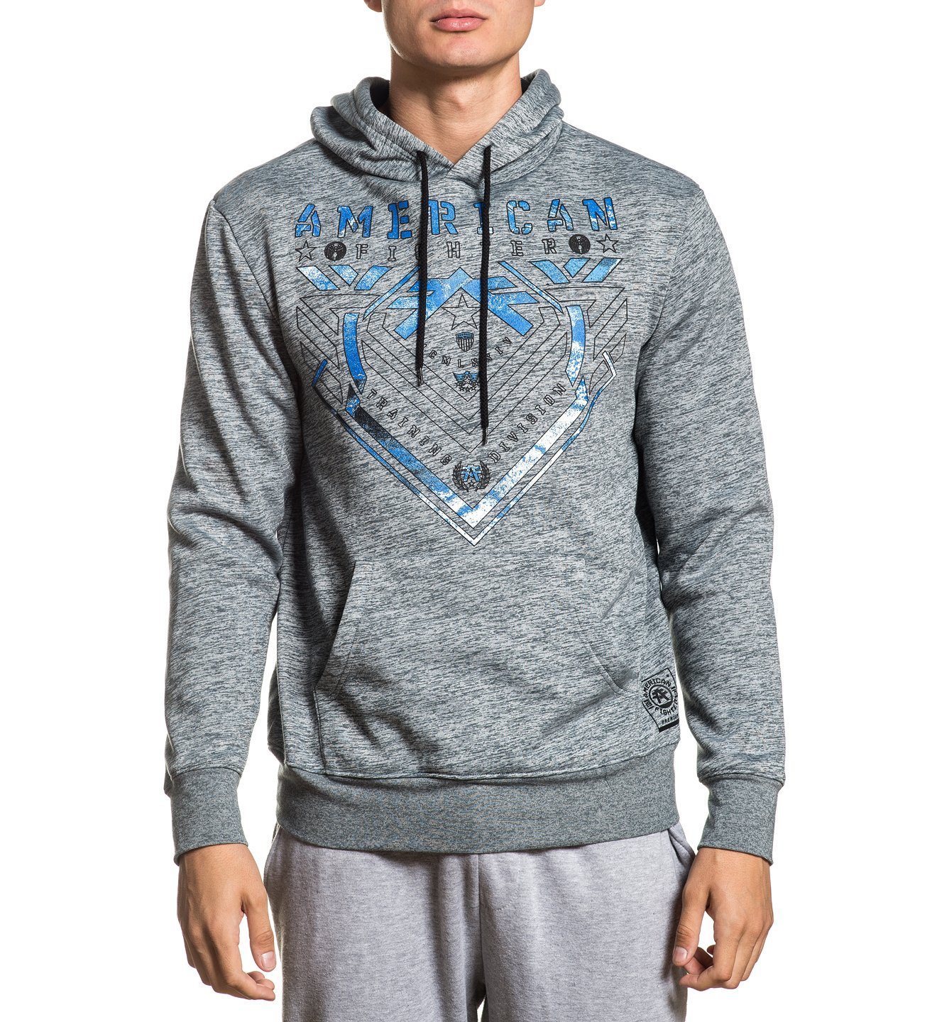 Parkside Ls Hood - Mens Hooded Sweatshirts - American Fighter