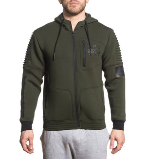 Proximity Zip Hood - Mens Hooded Sweatshirts - American Fighter