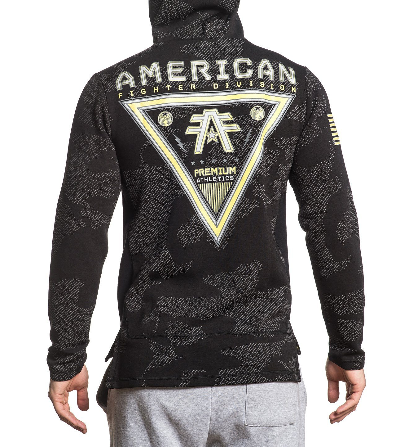 Revenge P/O Hood - Mens Hooded Sweatshirts - American Fighter