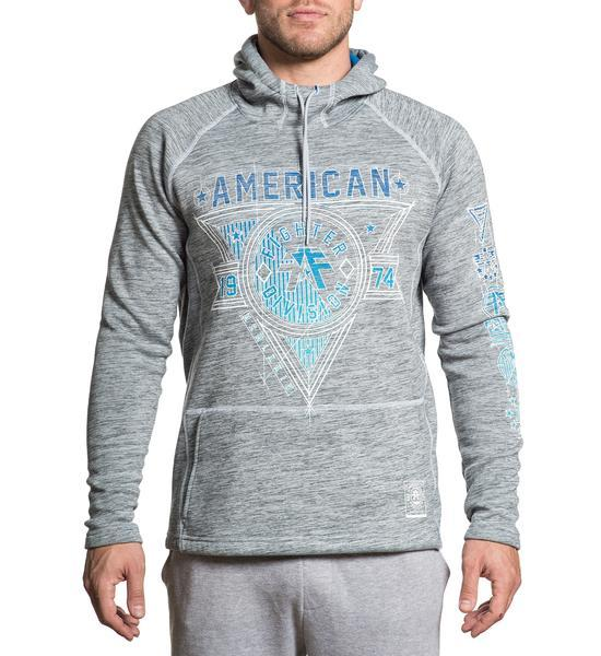 Siena Heights - Mens Hooded Sweatshirts - American Fighter