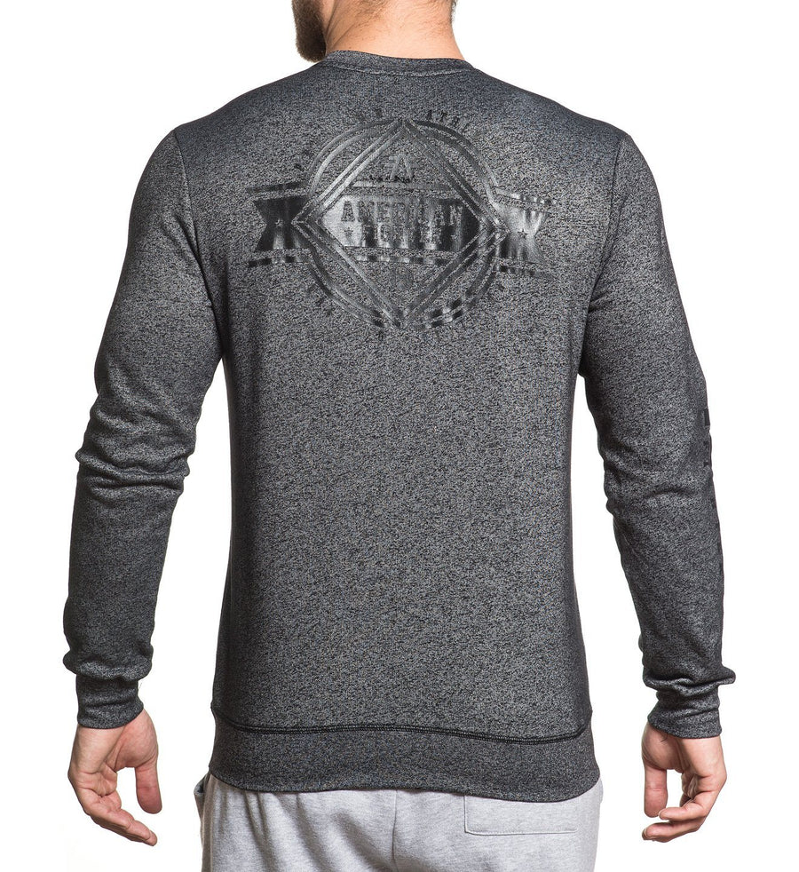 Asbury - Mens Long Sleeve Tees - American Fighter