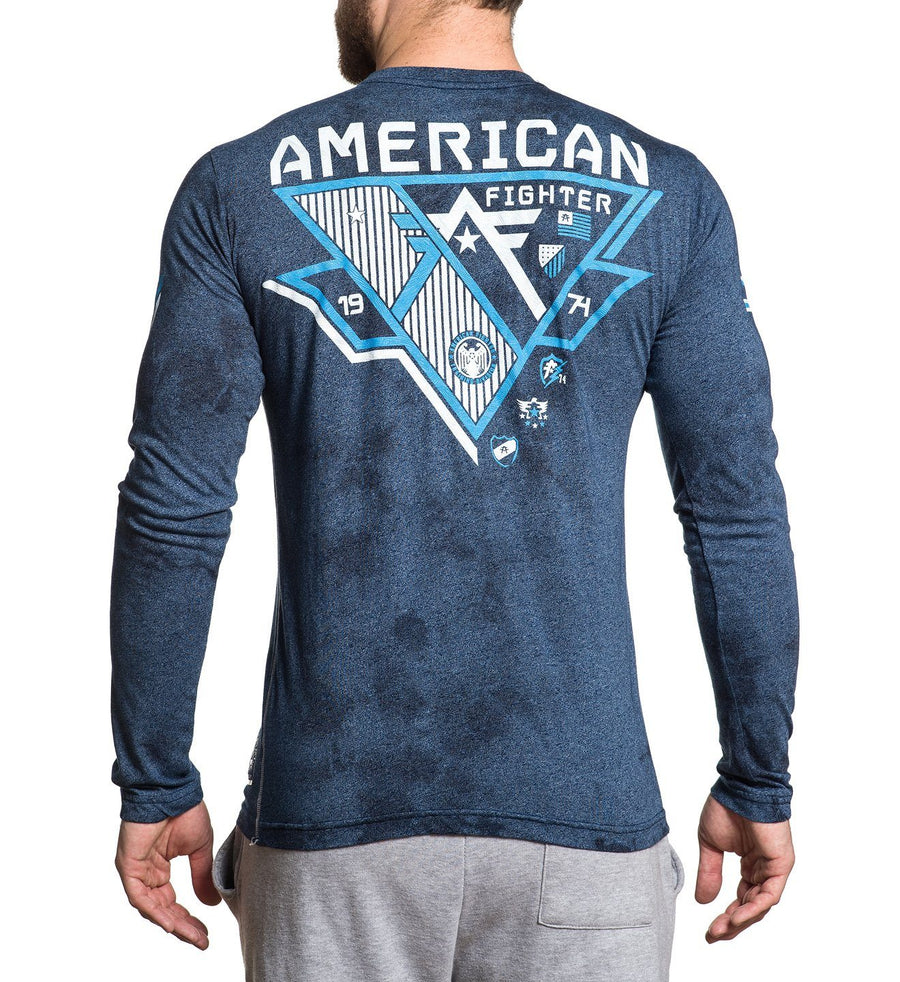 Beckett - Mens Long Sleeve Tees - American Fighter