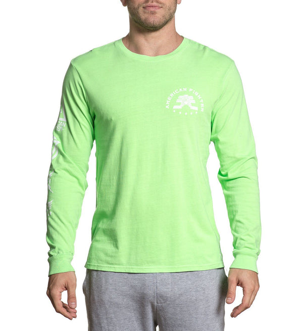 Bristol - Mens Long Sleeve Tees - American Fighter