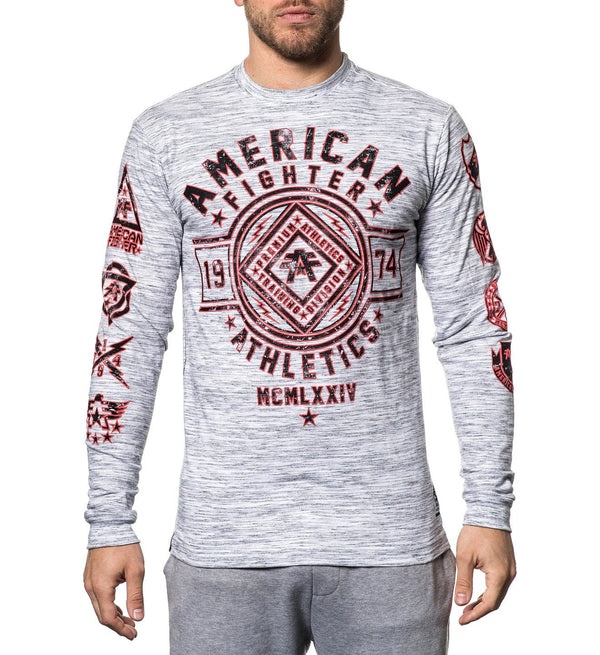 Mens Long Sleeve Tees - Chestnut Hill