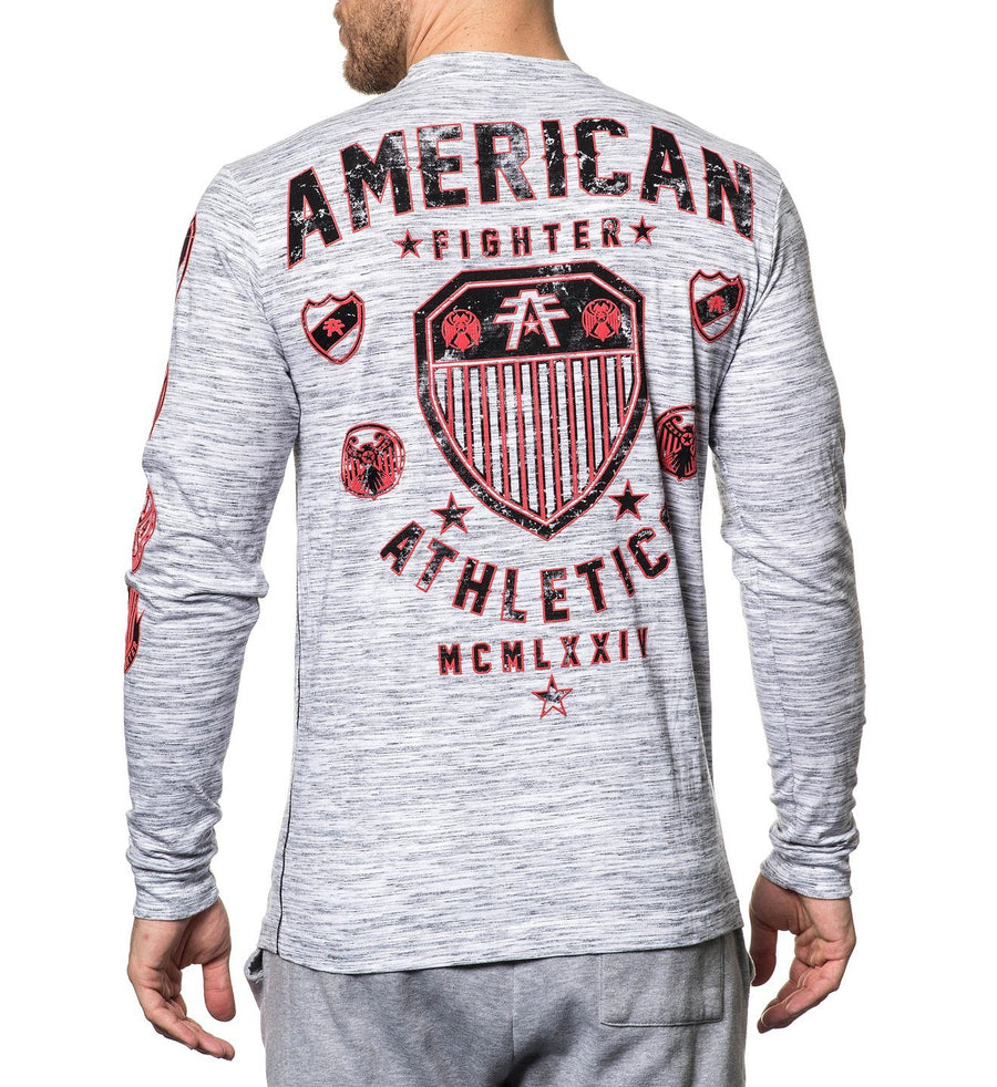 Chestnut Hill - Mens Long Sleeve Tees - American Fighter