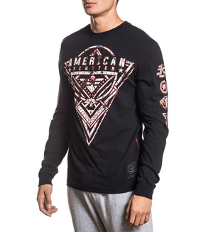 Denville - Mens Long Sleeve Tees - American Fighter