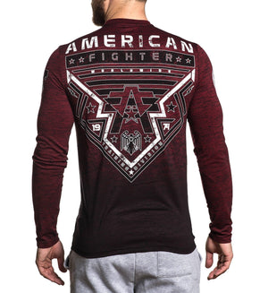 Gladbrook - Mens Long Sleeve Tees - American Fighter