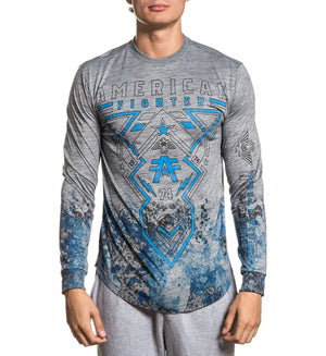 Hartsdale - Mens Long Sleeve Tees - American Fighter