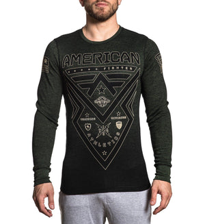 Lakehurst - Mens Long Sleeve Tees - American Fighter