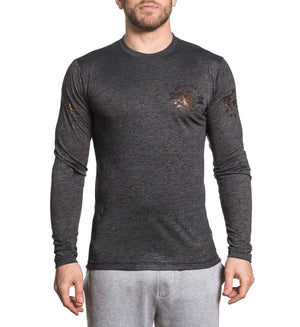 Massachusetts - Mens Long Sleeve Tees - American Fighter